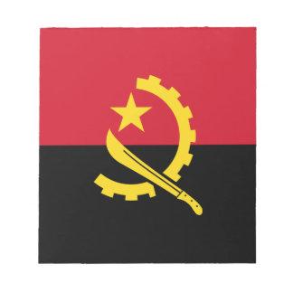 Patriotic Angolan Flag Notepad