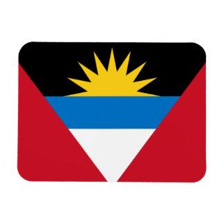 Patriotic Antigua and Barbuda Flag Magnet