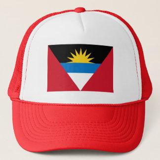 Patriotic Antigua and Barbuda Flag Trucker Hat