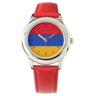 Patriotic Armenia Flag Watch