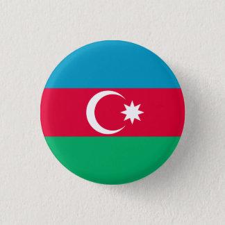 Patriotic Azerbaijan Flag 3 Cm Round Badge