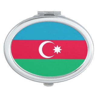 Patriotic Azerbaijan Flag Mirror For Makeup