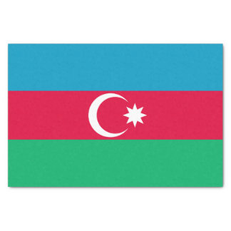Patriotic Azerbaijan Flag Tissue Paper