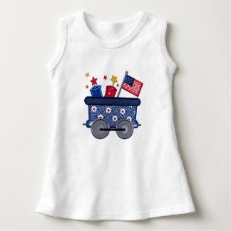 Patriotic Baby Sleeveless Dress