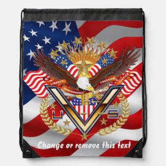 Patriotic Backpack? Runner? View About Design Drawstring Bag