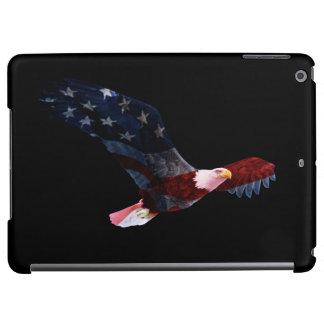 Patriotic Bald Eagle Flag