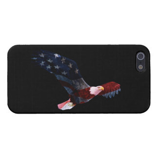 Patriotic Bald Eagle Flag Case For iPhone 5/5S