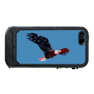 Patriotic Bald Eagle Flag iPhone 5 Case Incipio ATLAS ID™ iPhone 5 Case