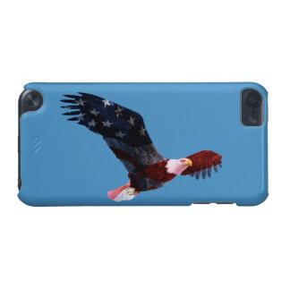 Patriotic Bald Eagle Flag iPod 5 Case iPod Touch 5G Case
