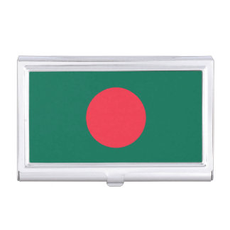 Patriotic Bangladeshi Flag Business Card Holder
