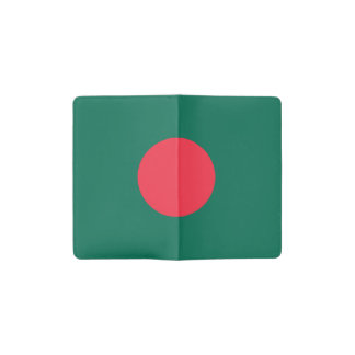 Patriotic Bangladeshi Flag Pocket Moleskine Notebook