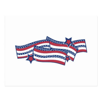 Patriotic Banner Post Cards