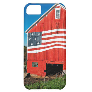 Patriotic Barn iPhone 5C Case