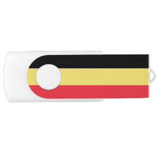 Patriotic Belgian Flag USB Flash Drive