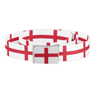 Patriotic Belt with flag of England
