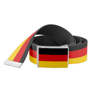 Patriotic Belt with flag of Germany