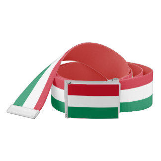 Patriotic Belt with flag of Hungary