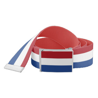 Patriotic Belt with flag of Netherlands