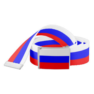 Patriotic Belt with flag of Russia