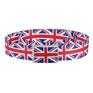 Patriotic Belt with flag of United Kingdom