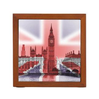 Patriotic Big Ben in London, desk tidy Pencil/Pen Holder