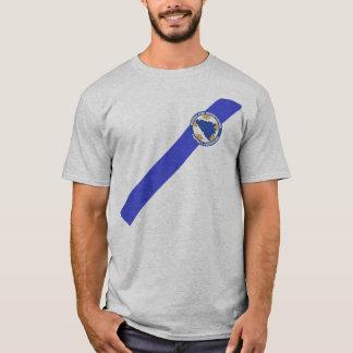 Patriotic BiH T-Shirt Jersey - Dzeko 11