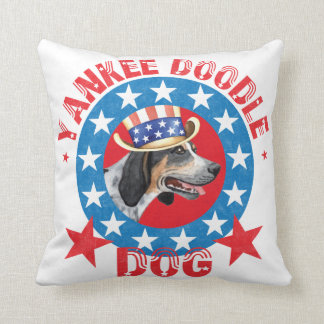 Patriotic Bluetick Throw Pillows