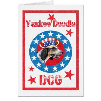 Patriotic Bluetick Greeting Card