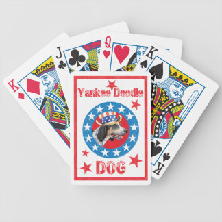 Patriotic Bluetick Poker Deck
