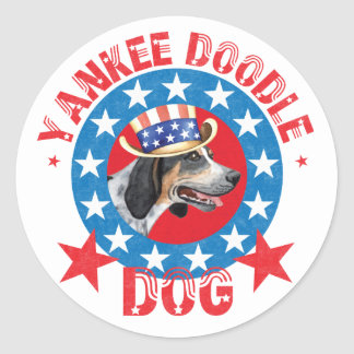 Patriotic Bluetick Stickers