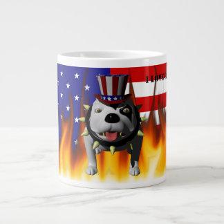Patriotic BoBo 3 Jumbo Mug