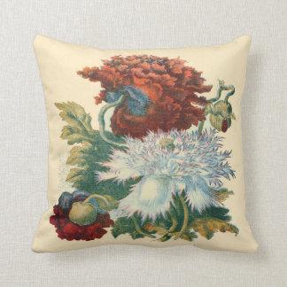 Patriotic Botanical Pillow