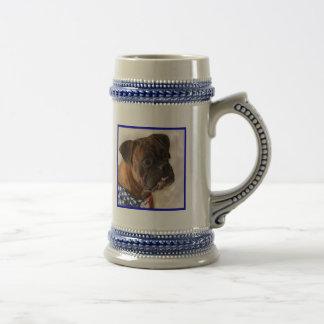 Patriotic Boxer Dog Mug