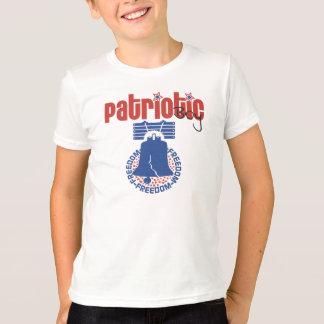 Patriotic Boy Let Freedom Ring T-shirt