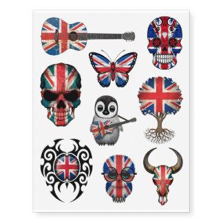 Patriotic British Flags Collection