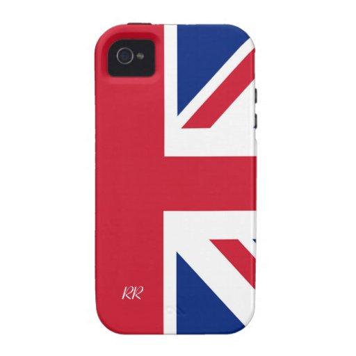 Patriotic British Union Jack iPhone 4/4S iPhone 4 Cover