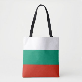 Patriotic Bulgarian Flag Tote Bag