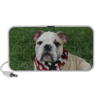 patriotic bulldog iPhone speaker