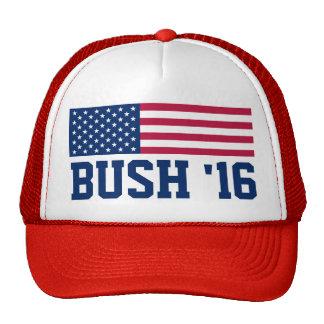 Patriotic Bush 2016 American Flag Cap