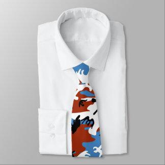 Patriotic Camo Tie