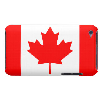Patriotic Canadian Maple Leaf Flag iPod Touch 4G Case-Mate iPod Touch Case