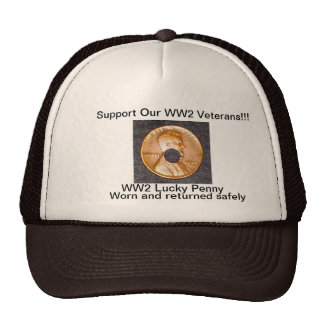 Patriotic Cap/WW2 Lucky Penny Cap