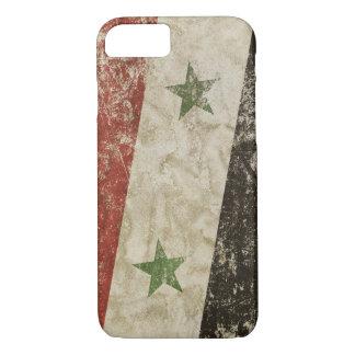 Patriotic case with flag of Siria