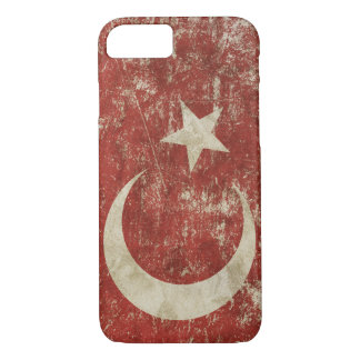 Patriotic case with flag of Turkey