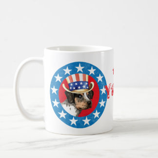 Patriotic Catahoula Coffee Mug