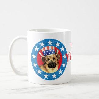 Patriotic Chinook Basic White Mug