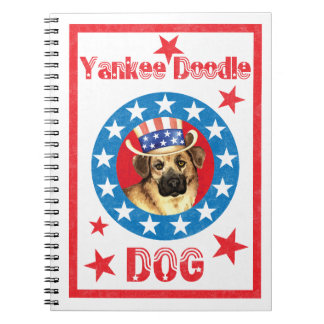 Patriotic Chinook Notebook