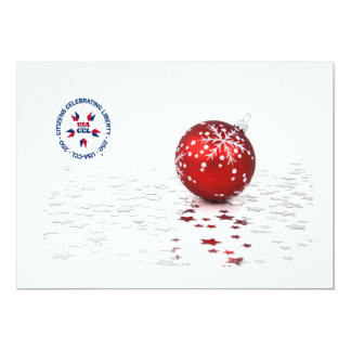 Patriotic Christmas Invite/Card - America's 250th Card
