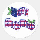 Patriotic christmas Stickers