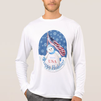 Patriotic Christmas T-shirt for Troops